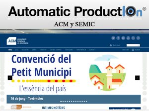 Associació Catalana de Municipis (ACM) publica el Acuerdo Marco para videoactas.