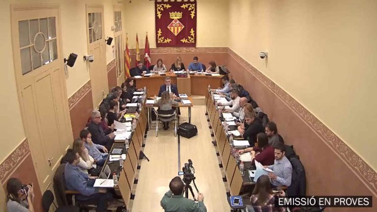 emissio streaming vídeo acta plenos municipales