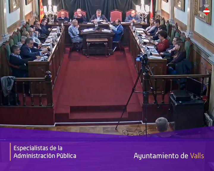 ion valls streaming vídeo acta plenos municipales