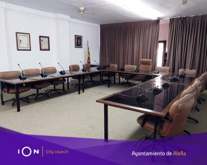 Alella graba y retransmite en directo sus plenos municipales con el sistema audiovisual IOn
