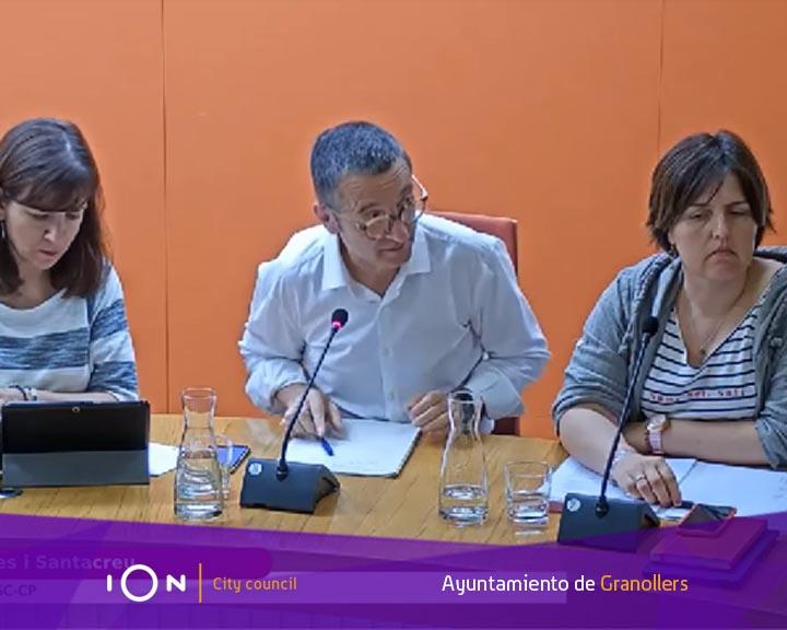 L'Ajuntament de Granollers amb tecnologia iOn i l'Àudio-vídeo Acta de SEMIC i eCityclic