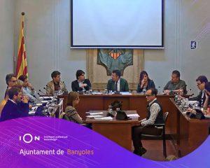 El Ayuntamiento de Banyoles graba y retransmite en directo los plenos municipales con tecnología iOn