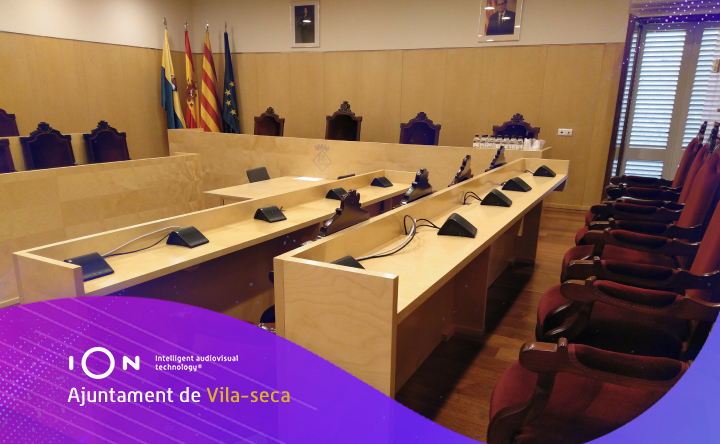 el ayuntamiento de vilaseca efectúa la grabación de sesiones plenarias